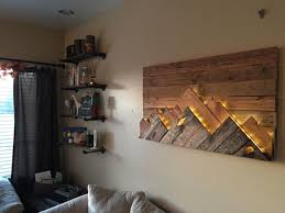 wooden wall decoration organic warmth and comfort in the
