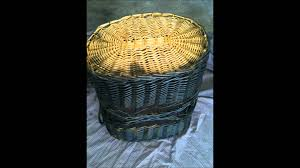 Spray Paint Wicker Patio Furniture - how to paint wicker basket youtube