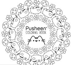 tabby cat coloring pages pusheen cat coloring pages adam pinterest pusheen cat