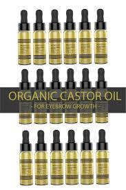 best 25 castor oil for eyebrows ideas on pinterest castor oil