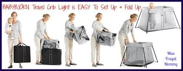 Crib Light Babybjörn Travel Crib Light Giveaway Ends 6 20 Rays Of Bliss