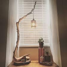 Bedroom Wonderful Best 25 Wood by Wonderful Best 25 Rustic Floor Lamps Ideas On Pinterest Sale