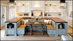 pre made kitchen islands with seating kitchen island with built in seating inspiration the owner