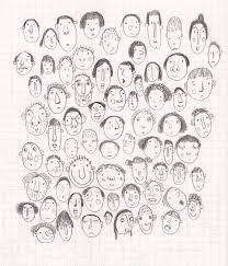 how to draw doodle faces 215 best sketch illustrations images on anatomy
