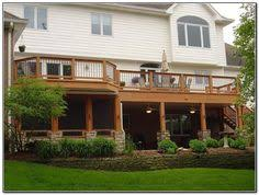 under deck patio decorating ideas patio cover 2nd story