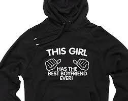 girlfriend hoodie etsy