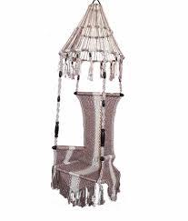 Hanging Patio Chair by Kaushalendra Hanging Hammocks Cotton Zummar Nylon Single Patio