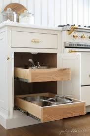how to organize pots and pans in cabinet easy and beautiful pots and pans storage ideas kitchen