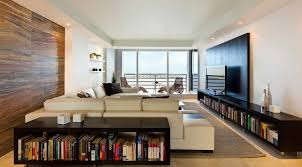 small apartment decorating ideas with home library