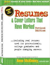 resumes u0026 cover letters that have worked anne mckinney