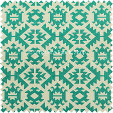 freedom printed velvet fabric collection teal colour geometric