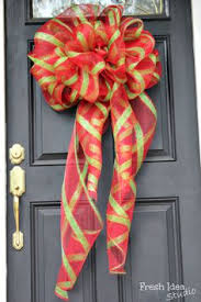 how to make a big bow for a wreath big bows wreaths and craft