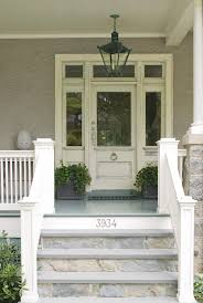 Front Porch Floor Paint Colors by Best 25 Front Porch Steps Ideas On Pinterest Siding Colors