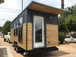 this is a modern industrial tiny house on wheels it s located in this is a modern industrial tiny house on wheels it s located in gilbert arizona