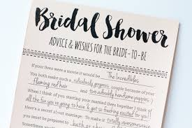 wedding wishes and advice cards printable bridal shower advice cards free