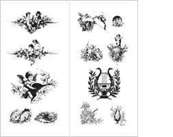 the pepin press graphic themes graphic ornaments