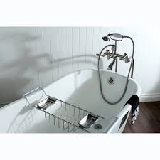 Bathtubs 54 Inches Long Slipper Cast Iron 53 Inch Clawfoot Bathtub Free Shipping Today