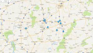 Lexington Ky Map The Heart Of The Bluegrass U2013 In A State Of Migration U2013 Medium