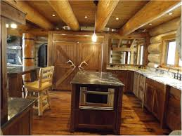 log cabin kitchen ideas brilliant gorgeous cabin kitchen cabinet ideas log cabin kitchen