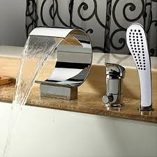 Cheap Bathroom Faucets by Popular Waterfall Bathtub Faucets Buy Cheap Waterfall Bathtub