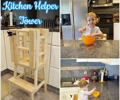 kitchen helper stool ikea kitchen helper tower 8 steps with pictures