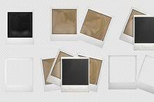 polaroid frame photos graphics fonts themes templates