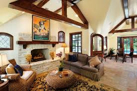 Living Rooms With Area Rugs Red Tile Flooring Living Room Traditional With Area Rug Exposed