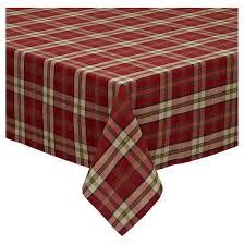 orange cfire plaid tablecloth 60 x84 design imports target