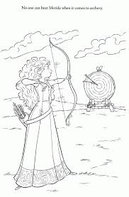 Brave Coloring Book 555057 Disney Brave Coloring Pages