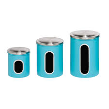Vintage Kitchen Canister Set by 100 Retro Kitchen Canisters Set 100 Blue Kitchen Canister