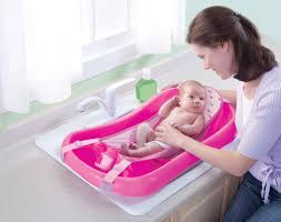 Toddler Bathtub For Shower The First Years Sure Comfort Newborn To Toddler Tub Pink