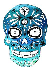 Sugar Skull Pumpkin Carving Patterns by I Have This Idea In My Head For A Sugar Skull Dia De Los Muertos