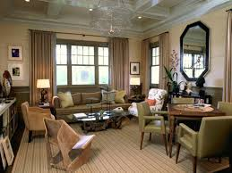 spacious living room dining room design spacious living room with regal coffered