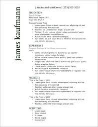 effective resume templates effective resume formats most successful resume template awesome