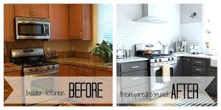 painting oak kitchen cabinets white before and after painting kitchen cabinets white before and after salmaun me