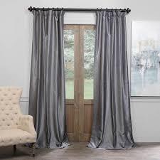 textured faux silk dupioni silk blackout curtains