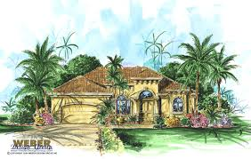 Mediterranean Homes Plans Single Story California Style House Plan Laverra Home Plan