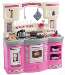 kidkraft vintage wooden play kitchen in pink walmart com play step 2 kitchen at walmart play kitchens for toddlers set a girl about step 2 kitchen set about blue kitchen design