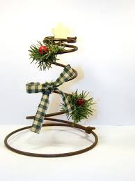 primitive country tree decorations images craft