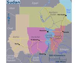Africa Regions Map by Maps Of Sudan Detailed Map Of Sudan In English Tourist Map