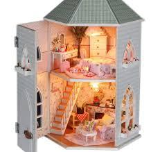 Diy Dollhouse Furniture Aliexpress Com Buy Free Shipping New Diy Dollhouse 3d Miniatures
