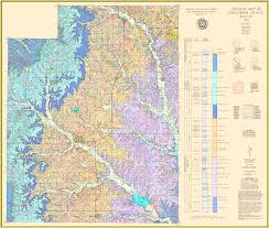Map Of Wichita Ks Kgs Geologic Map Greenwood Large Size