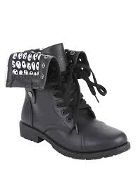 the nightmare before heads combat boots topic