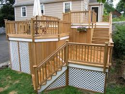 Patio Handrails by Safety Deck Railing Design U2014 Railing Stairs And Kitchen Design
