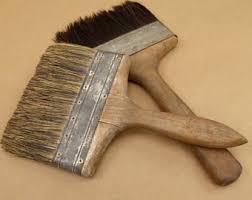 Horsehair Bench Brush Horse Brushes Etsy
