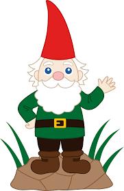 Lawn Gnome by Friendly Garden Gnome Free Clip Art