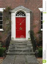 door house georgian house door exterior stock image image of steps brass 50205