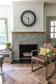 Diy Fireplace Cover Up Best 25 Concrete Fireplace Ideas On Pinterest Modern Fireplace