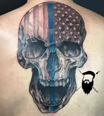 American Flag Tattoos Black And Grey Browse Worlds Largest Tattoo Image Gallery Trueartists Com