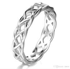 celtic mens wedding bands 925 sterling silver celtic knot eternity band ring engagement